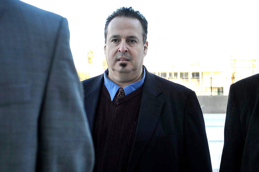 Leon Benzer, the alleged mastermind of the scheme to take over homeowner associations, arrives at the Lloyd George U.S. Courthouse on Friday, Jan. 23, 2015. (David Becker/Las Vegas Review-Journal)