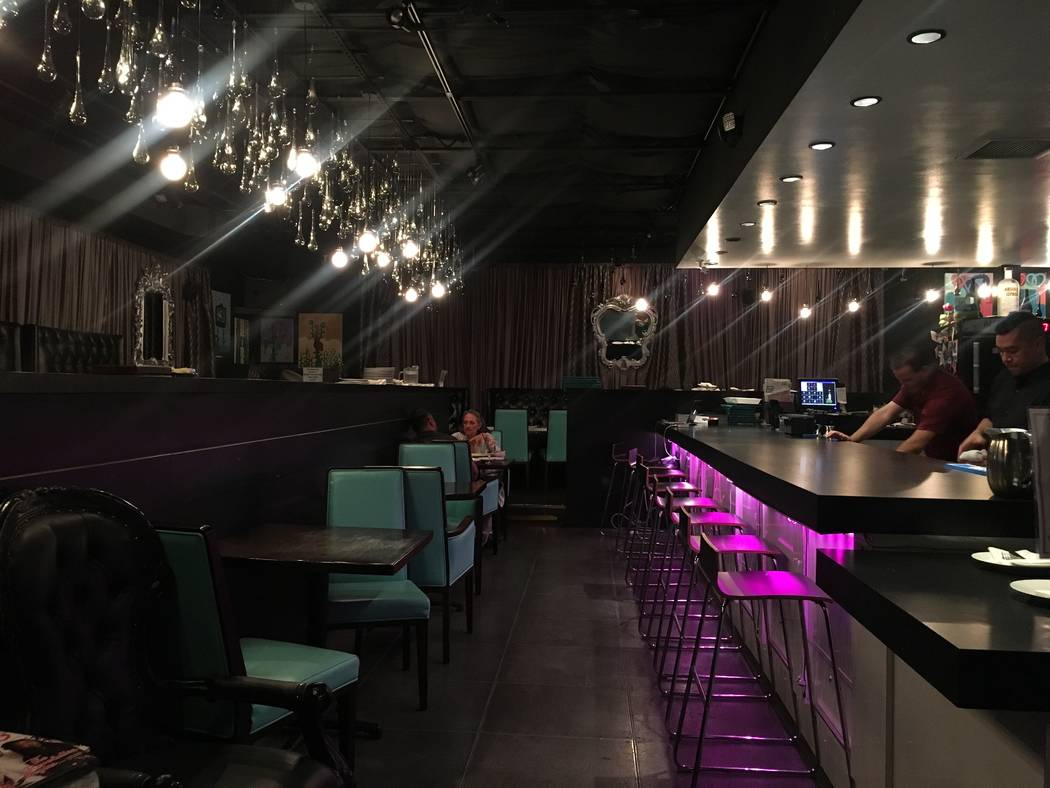 """Mundo at Mingo, a restaurant described as """"Latin chic meets American comfort,"""" is in the Arts District at 1017 S. First St. (Katelyn Umholtz/Las Vegas Review-Journal) @kumh0ltz"""