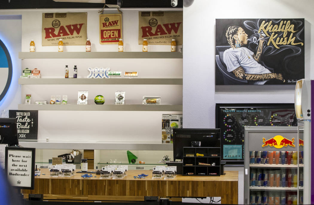 Reef Dispensaries near the Las Vegas Strip on Thursday, June 29, 2017.  Patrick Connolly Las Vegas Review-Journal @PConnPie