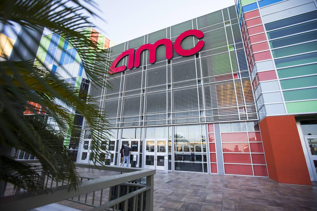 AMC at Town Square in Las Vegas on Thursday, June 29, 2017. (Chase Stevens/Las Vegas Review-Journal) @csstevensphoto