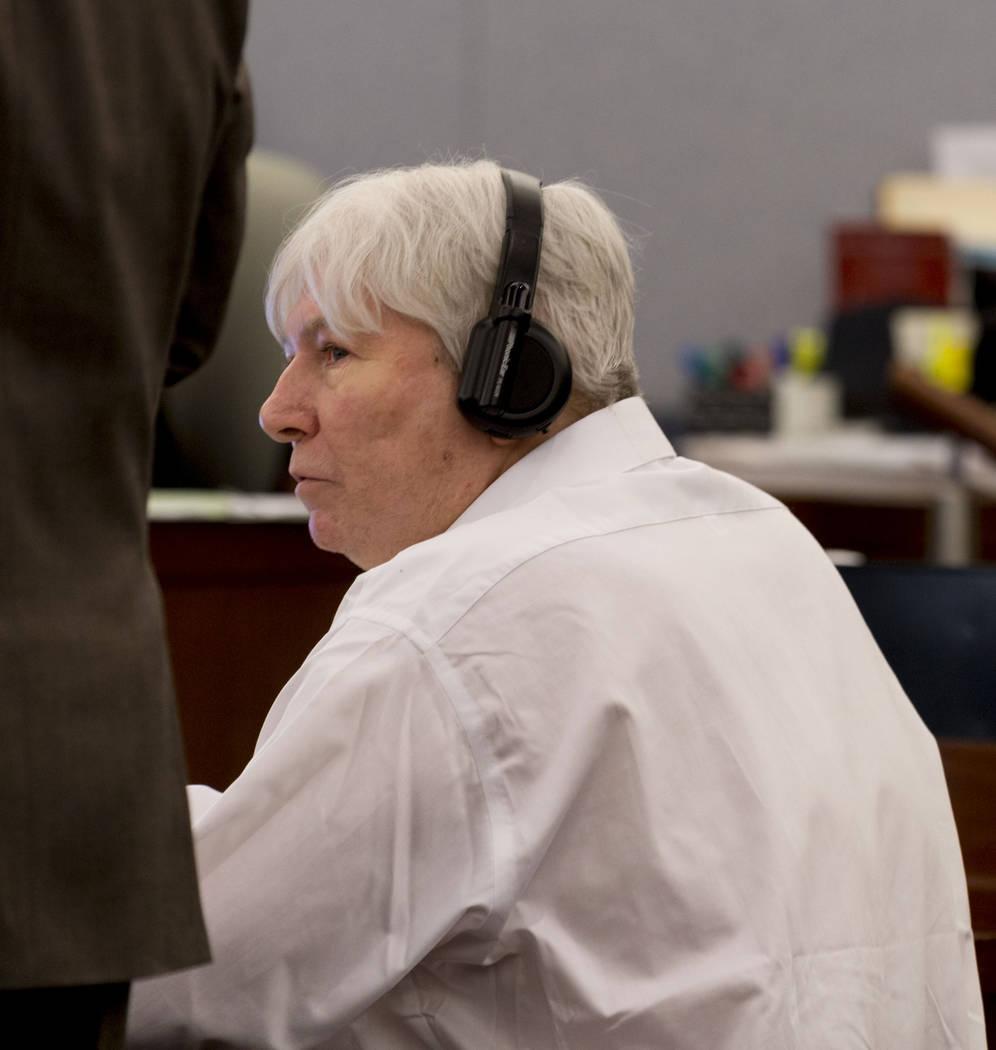 Thomas Randolph during his trial at the Regional Justice Center in Las Vegas, Thursday, June 29, 2017. Elizabeth Brumley Las Vegas Review-Journal