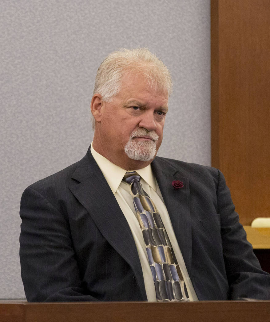 Detective Scott Connolly testifies during Thomas Randolph's trial at the Regional Justice Center in Las Vegas, Thursday, June 29, 2017. Elizabeth Brumley Las Vegas Review-Journal