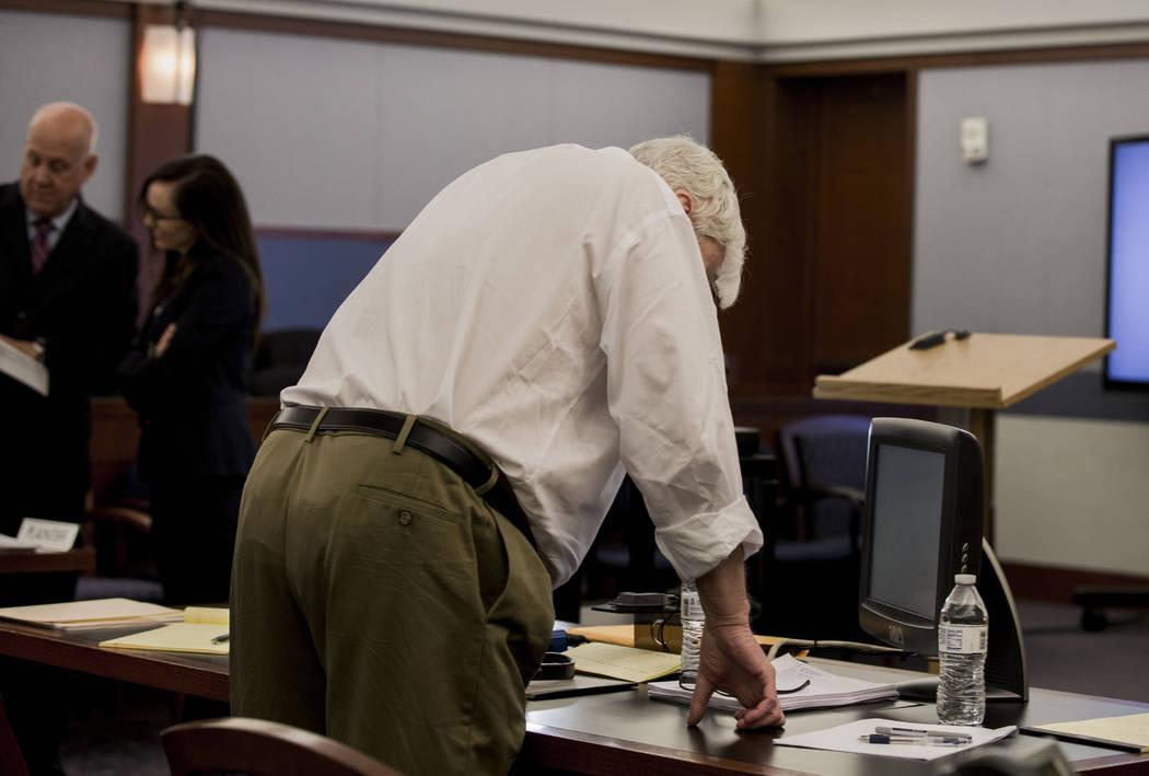 Defendant Thomas Randolph during his trial at the Regional Justice Center in Las Vegas, Thursday, June 29, 2017. Elizabeth Brumley Las Vegas Review-Journal