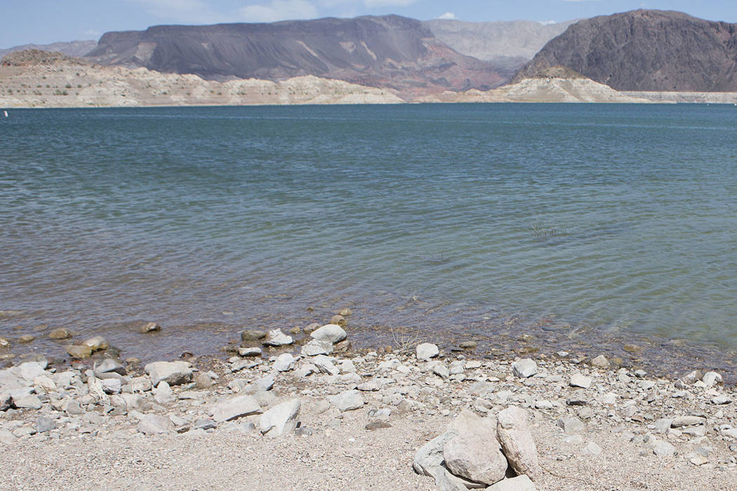 Lake Mead National Recreation Area near Lake Mead Marina (Las Vegas Review-Journal)