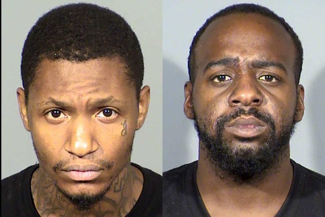 Demetrus Johnny Thomas, left, and DaJuan Marquise Barnwell (Las Vegas Metropolitan Police Department)