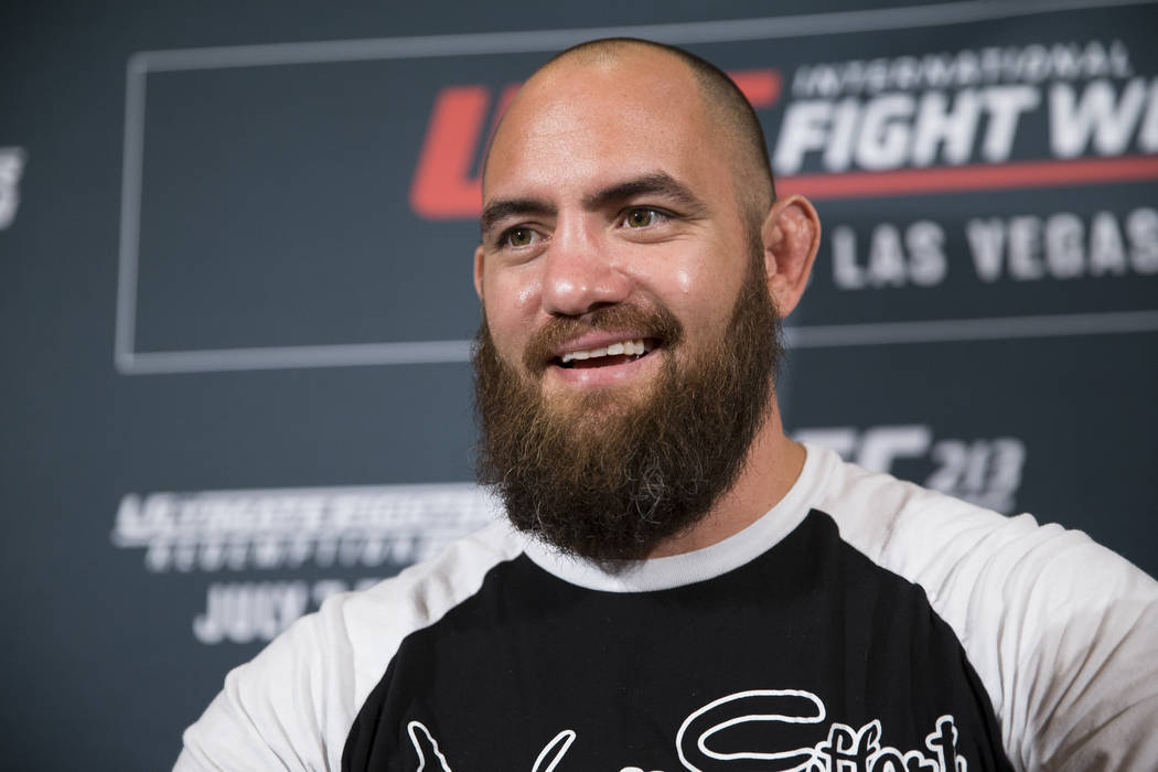 UFC fighter Travis Browne during UFC 213 media day at JW Marriott Los Angeles L.A. LIVE hotel in Los Angeles, Calif., on Thursday, June 29, 2017. Erik Verduzco Las Vegas Review-Journal @erik_verduzco
