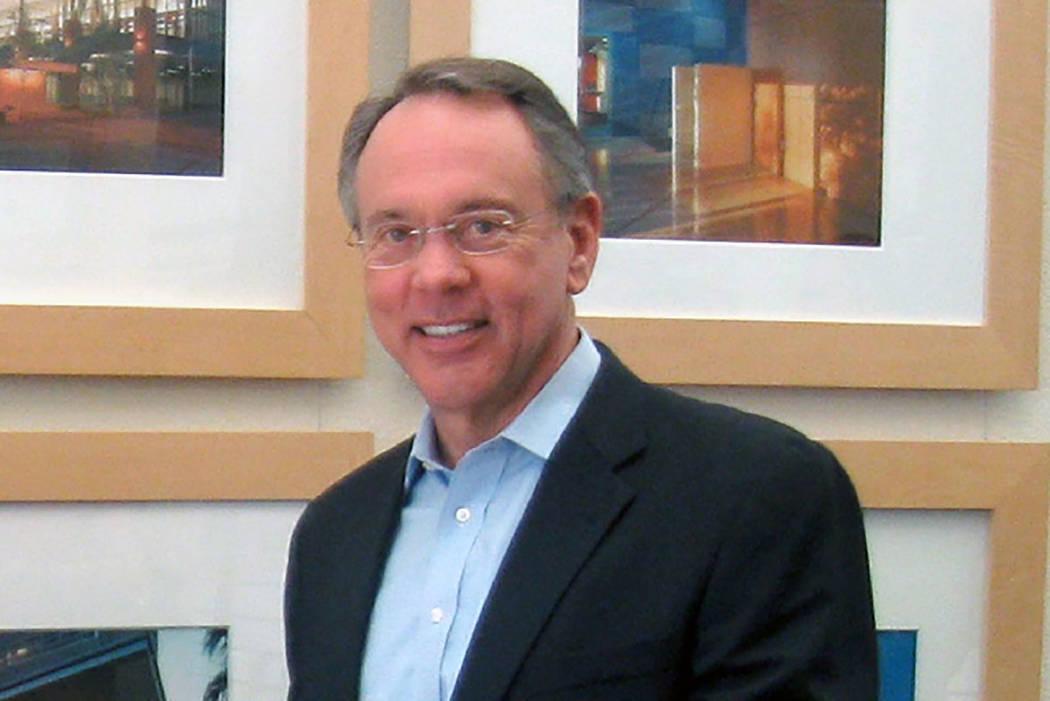 Former Henderson Mayor Jim Gibson (Las Vegas Review-Journal)