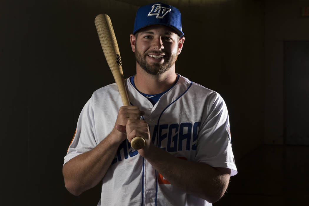 Las Vegas 51s Kevin Plawecki (26) during media day at Cashman Field on Tuesday, April 4, 2017, in Las Vegas. Erik Verduzco/Las Vegas Review-Journal Follow @Erik_Verduzco