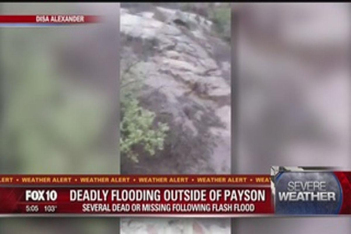 9 dead, boy missing in Arizona flash flood | Las Vegas
