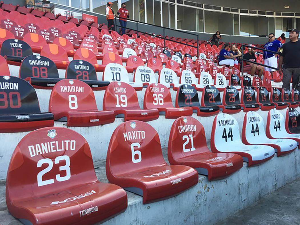 The stands at Tijuana's Estadio Gasmart (Brian Sanford/Las Vegas Review-Journal)