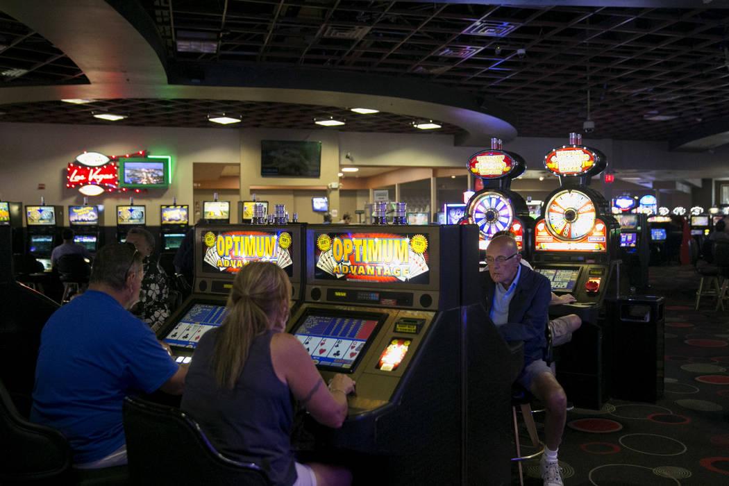Patrons gamble at the Club Fortune Casino in Henderson, Wednesday, June 14, 2017. Gabriella Angotti-Jones Las Vegas Review-Journal @gabriellaangojo