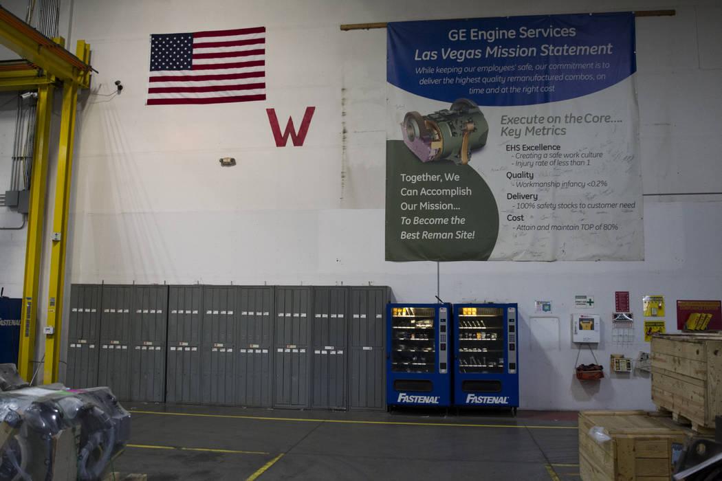 Inside the GE Transportation plant where locomotive traction motors are refurbished on Thursday, June 22, 2017 in Las Vegas. Erik Verduzco/Las Vegas Review-Journal