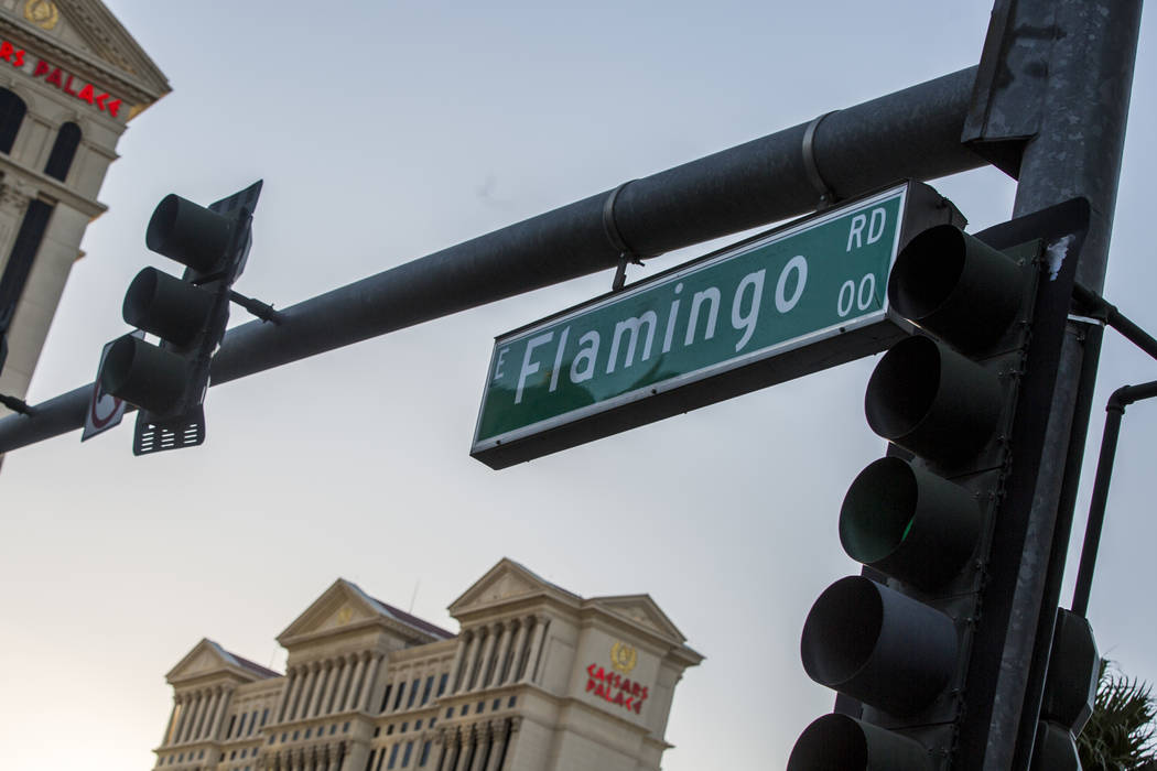 Flamingo Road on Monday, June 26, 2017.  Patrick Connolly Las Vegas Review-Journal @PConnPie