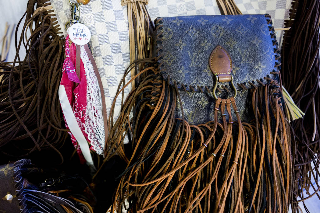 New Vintage Rehabs Old Handbags With Fringe Feathers And Tlc