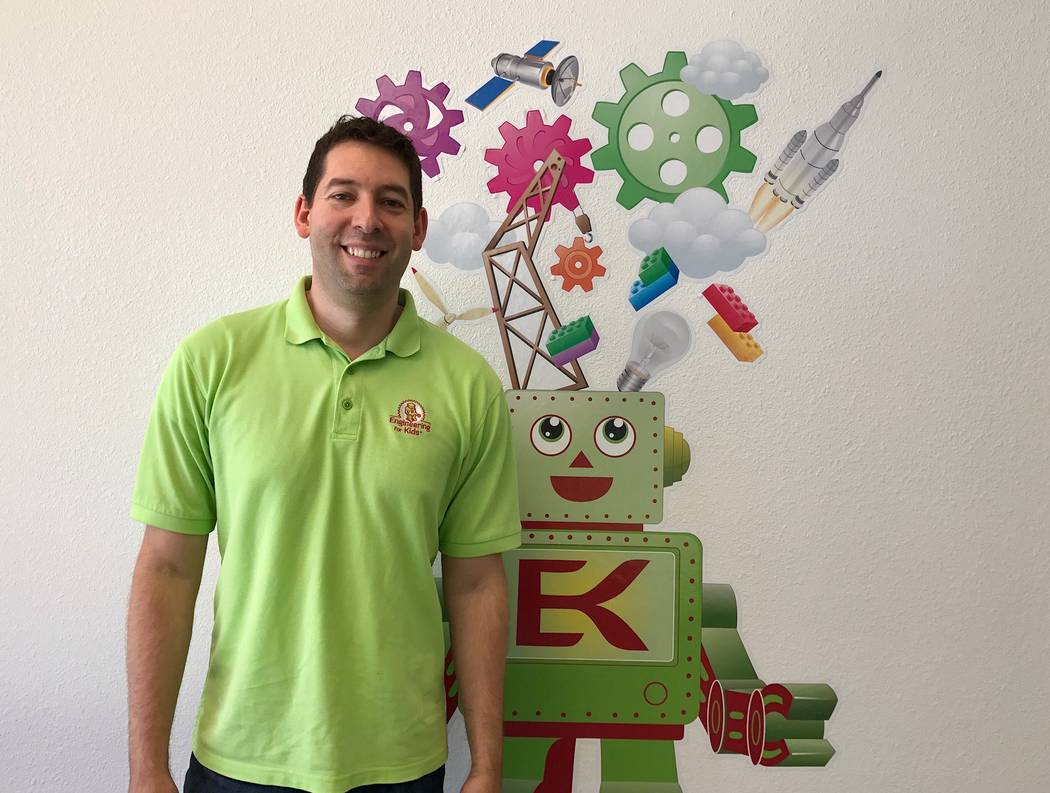 Leo Silva of Engineering for Kids, a science, technology, engineering and math program that offers classes and summer camps with hands-on learning projects. (Madelyn Reese/View) @MadelynGReese