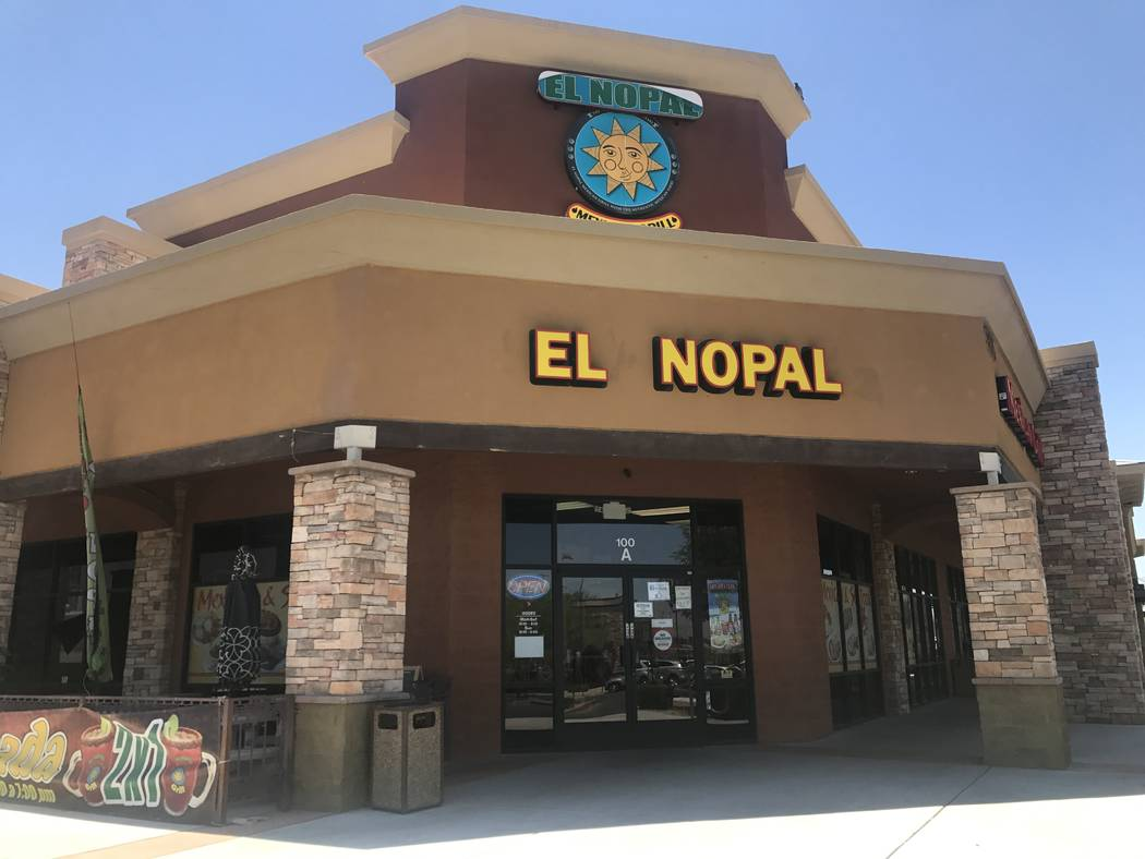 El Nopal Mexican Grill, 955 W Craig Rd #100a. (Kailyn Brown/View) @KailynHype