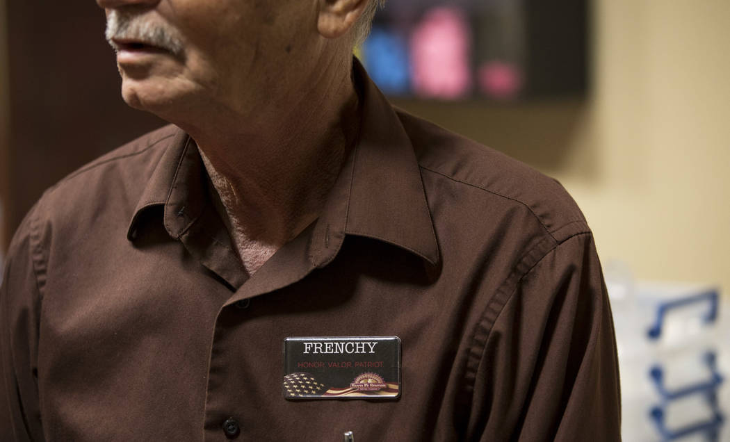 "North Las Vegas resident Victor ""Frenchy"" Letourneau, 72, an events ambassador for Santa Fe Station, at the Santa Fe Station Bowling Center on Wednesday, June 28, 2017. Richard B ..."