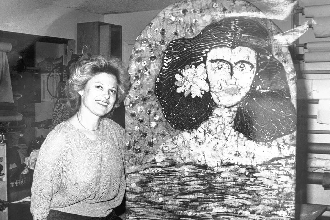 Joyce Straus in her home in Las Vegas. Photo provided by Straus family.