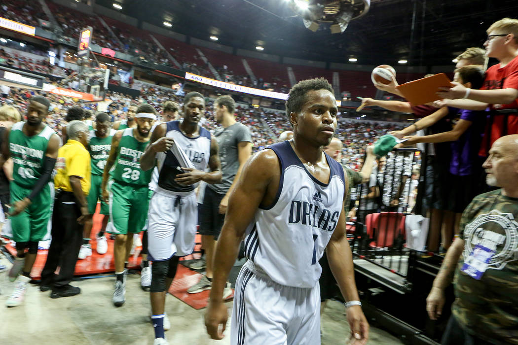 2017 NBA Summer League game at Thomas & Mack in Las Vegas on Saturday, July 15, 2017. Bridget Bennett Las Vegas Review-Journal @bridgetkbennett