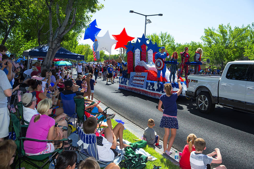 The 23rd annual Summerlin Council Patriotic Parade is set for July 4 with more than 35,000 Southern Nevadans expected to attend. New this year is a free shuttle for parade-goers that will run cont ...