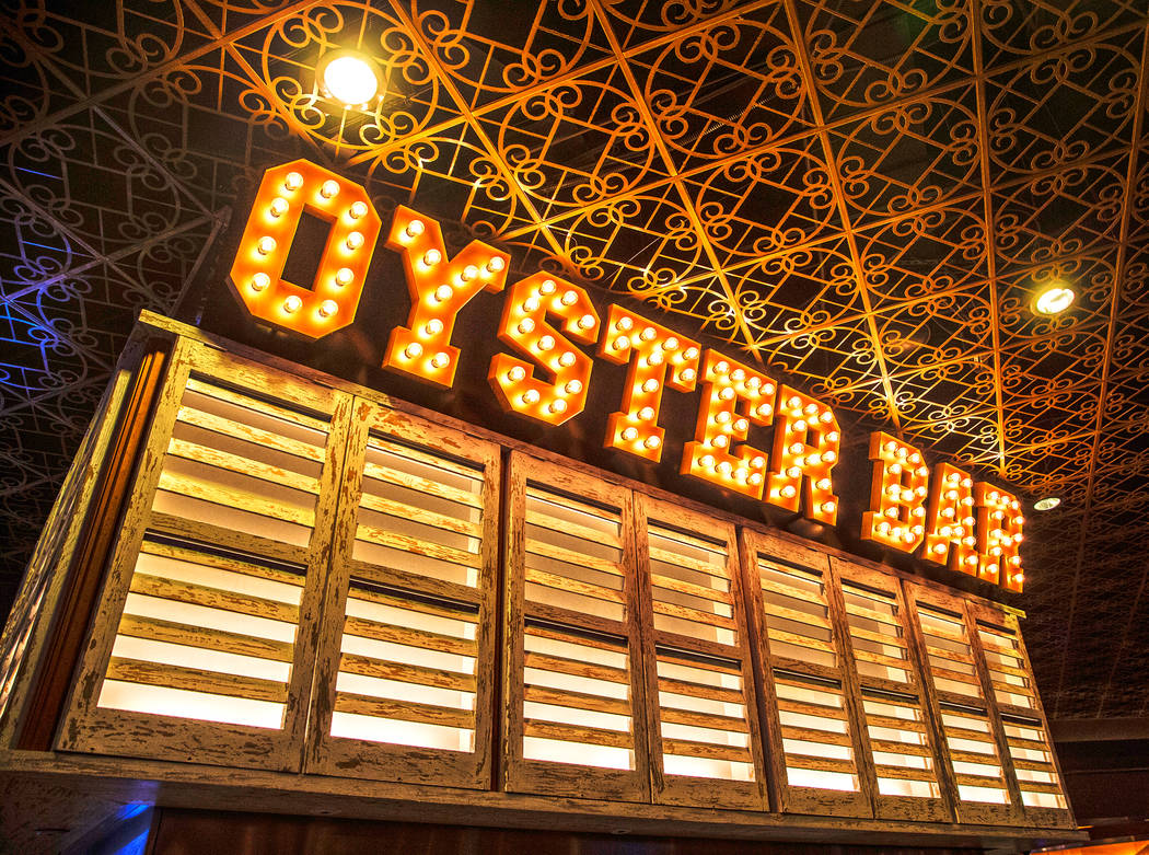 Oyster Bar on Wednesday, June 29, 2017, at the Hard Rock hotel-casino, in Las Vegas. Benjamin Hager Las Vegas Review-Journal @benjaminhphoto