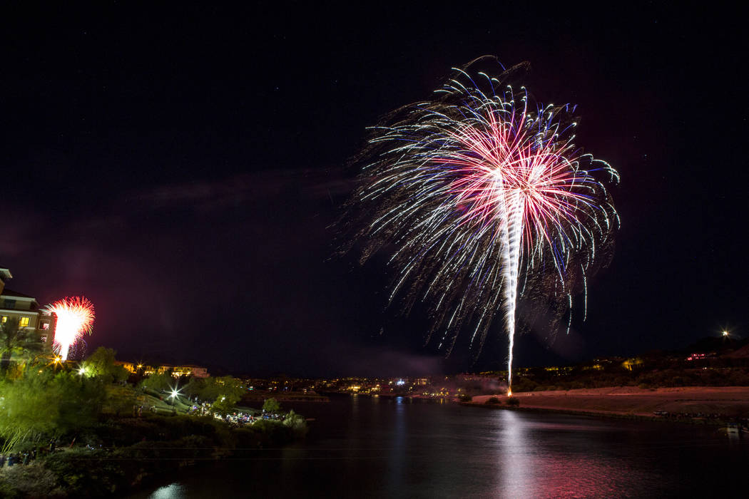 Lake Las Vegas celebrates July Fourth early — PHOTOS | Las ...  4th