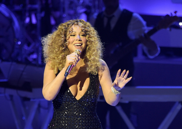 "Mariah Carey, opens her headlining residency, ""Mariah #1 to Infinity"" at the Colosseum at Caesars Palace in Las Vegas on Wednesday, May 6 2015.  The best-selling female artist of a ..."