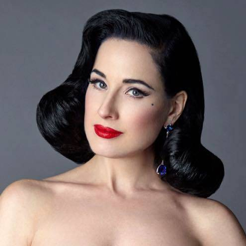 7d73434e4105 Queen of Burlesque Dita Von Teese July 10 at House of Blues in Mandalay Bay.