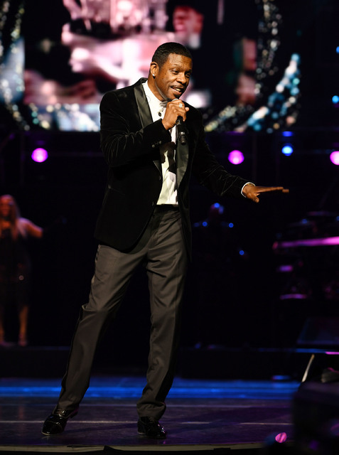 "Keith Sweat performs at the opening night of his show ""Keith Sweat: Last Forever"" Jan. 17. (Denise Truscello/WireImage)"
