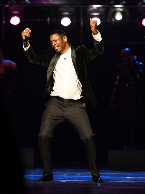 "Keith Sweat performs at the opening night of his show ""Keith Sweat: Last Forever"" at The Flamingo Jan. 17.   (Denise Truscello/WireImage)"