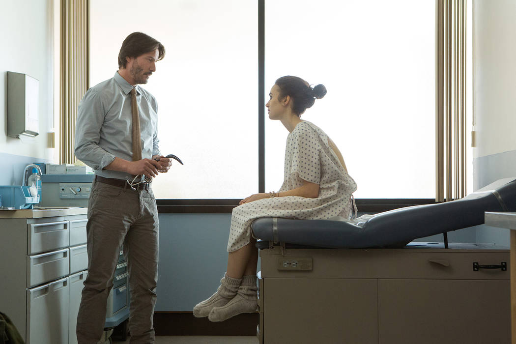 Keanu Reeves, Lily Collins To The Bone  Gilles Mingasson Netflix