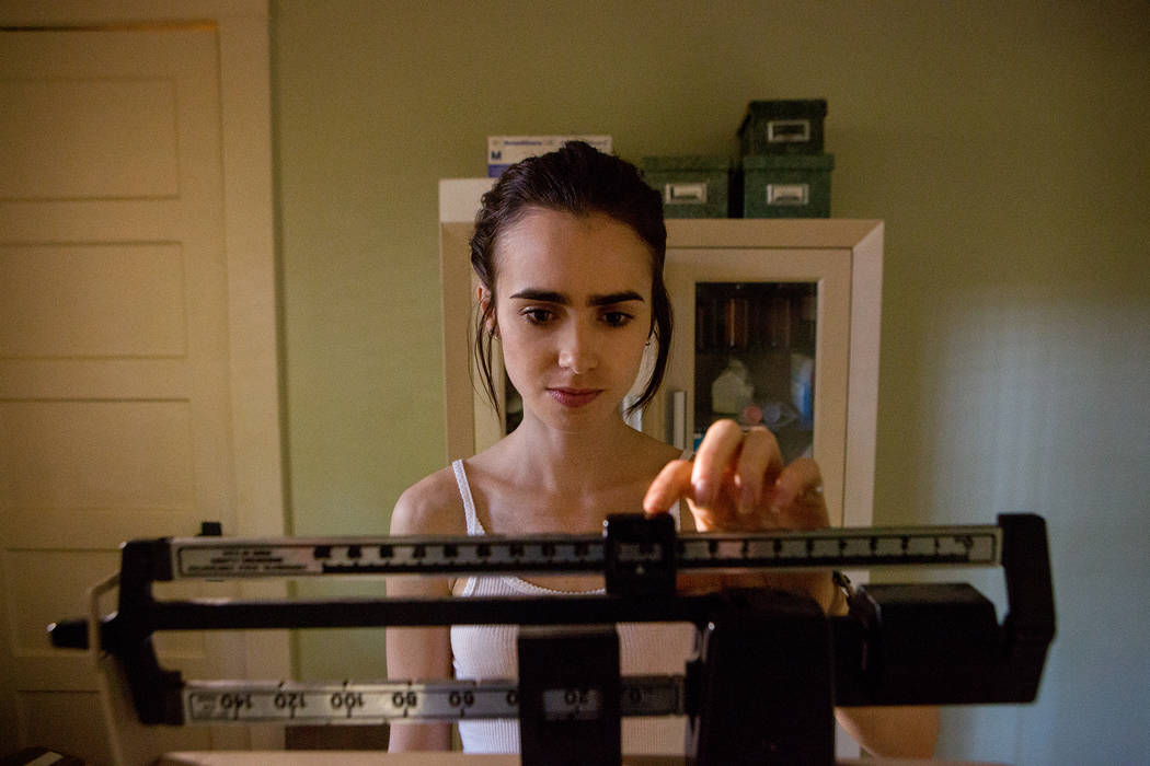 "Lily Collins stars in ""To the Bone."" Gilles Mingasson Netflix"