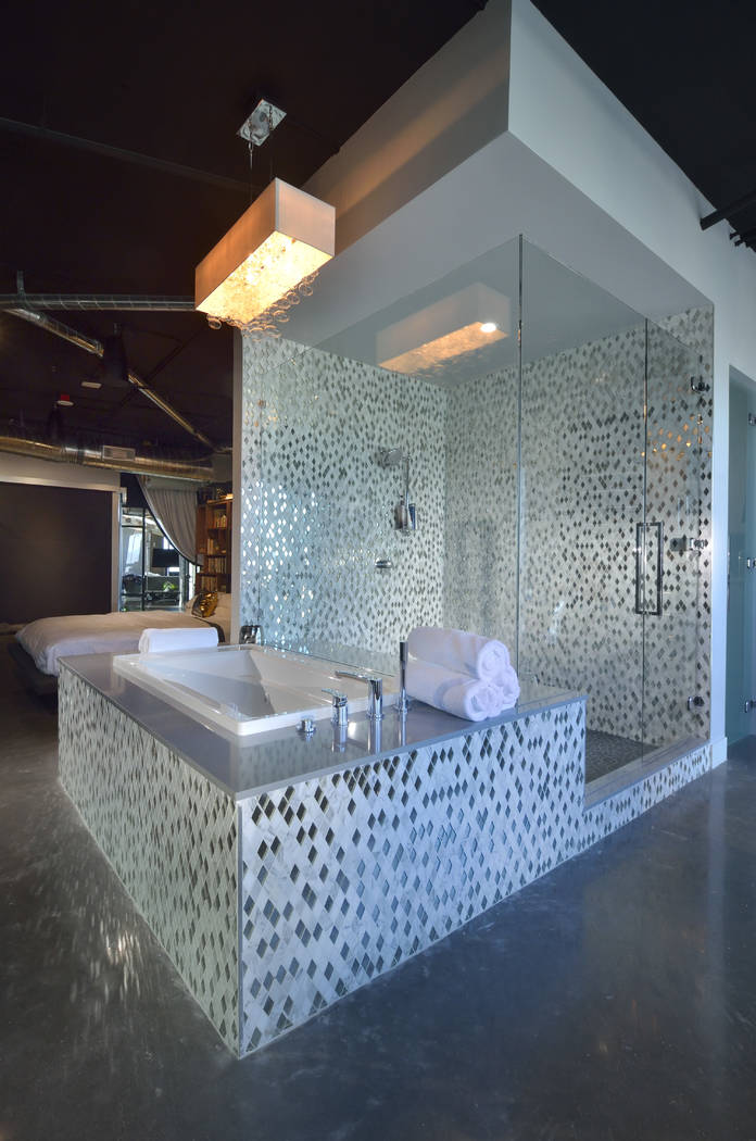 The master bathroom. (Bill Hughes Real Estate Millions)