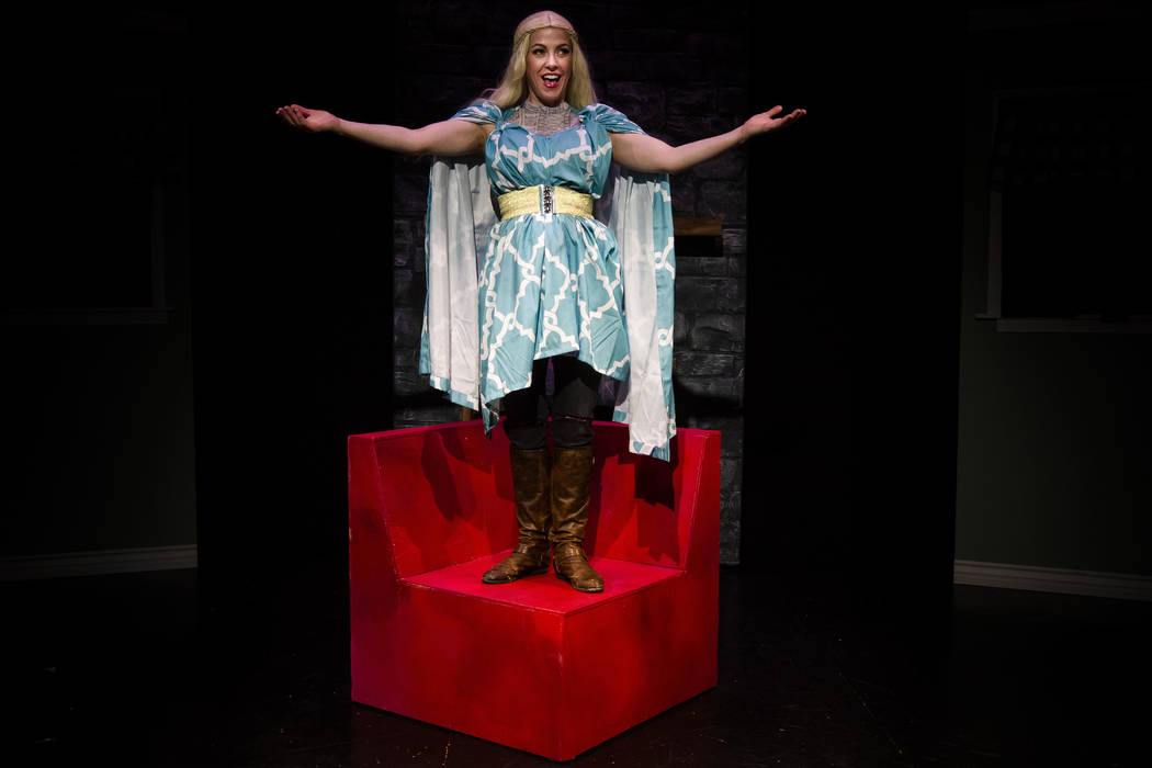 """Cast members from the Los Angeles production of """"Thrones! The Musical Parody"""" will reunite for a limited Las Vegas run July 14-23 at The Space. """"Thrones! The Musical Par ..."""