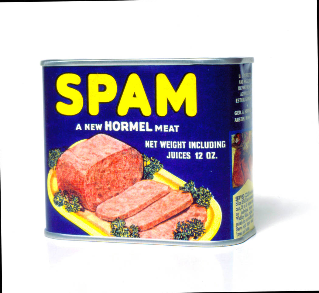 Hormel Foods' packaging of its famous canned meat has been remarkably consistent over the decades.