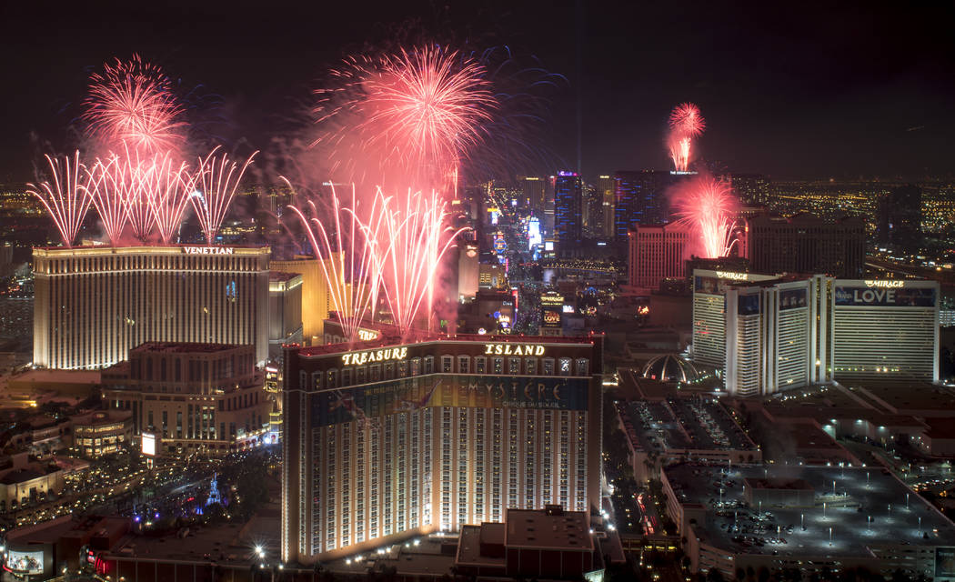 Las Vegas is set to celebrate the Fourth of July. (Mark Damon/Las Vegas News Bureau)