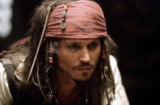 "Jack Sparrow (Johnny Depp) will return in ""Pirates of the Caribbean: Dead Men Tell No Tales"" May 26, 2017. Depp once appeared live at Disneyland's Pirates of the Caribbean ride to promote the film ..."
