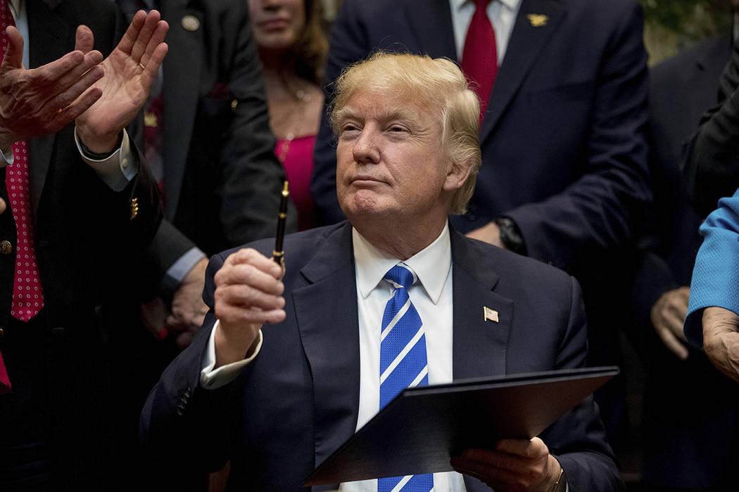 ARCHIVO- Presidente Donald Trump. | AP /Andrew Harnik.
