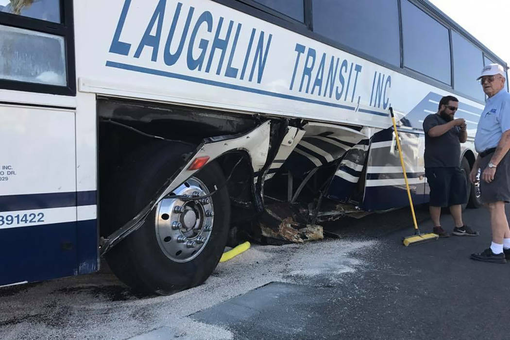 Las Vegas Tour Bus Crash