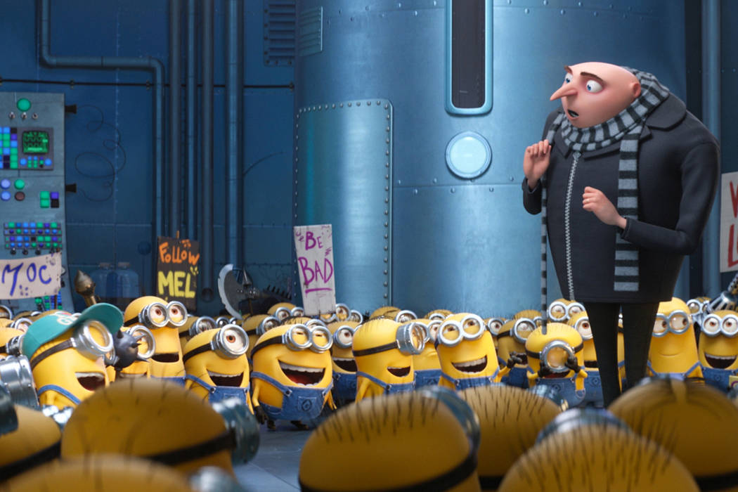 "Gru (Steve Carell) and the Minions return in ""Despicable Me 3."" (Universal Studios)"
