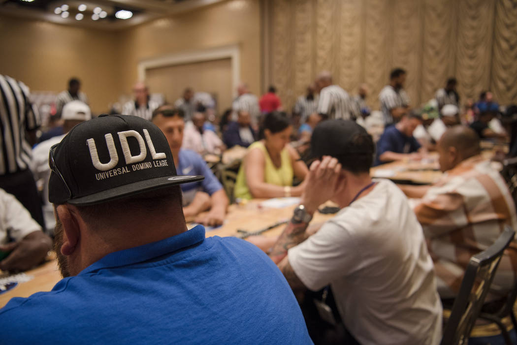 The Summer Slam Domino Tournament hosted by the The Universal Domino League has $50,000 in cash prizes at Westgate hotel-casino on Saturday, July 8, 2017, in Las Vegas. Morgan Lieberman Las Vegas  ...