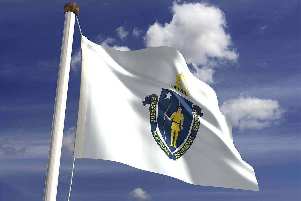 The flag of Massachusetts (Thinkstock)