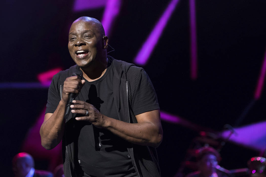 "Earth, Wind and Fire member Philip Bailey performs at the world premiere of ""Clive Davis: The Soundtrack of Our Lives"" at Radio City Music Hall, during the 2017 Tribeca Film Fest ..."