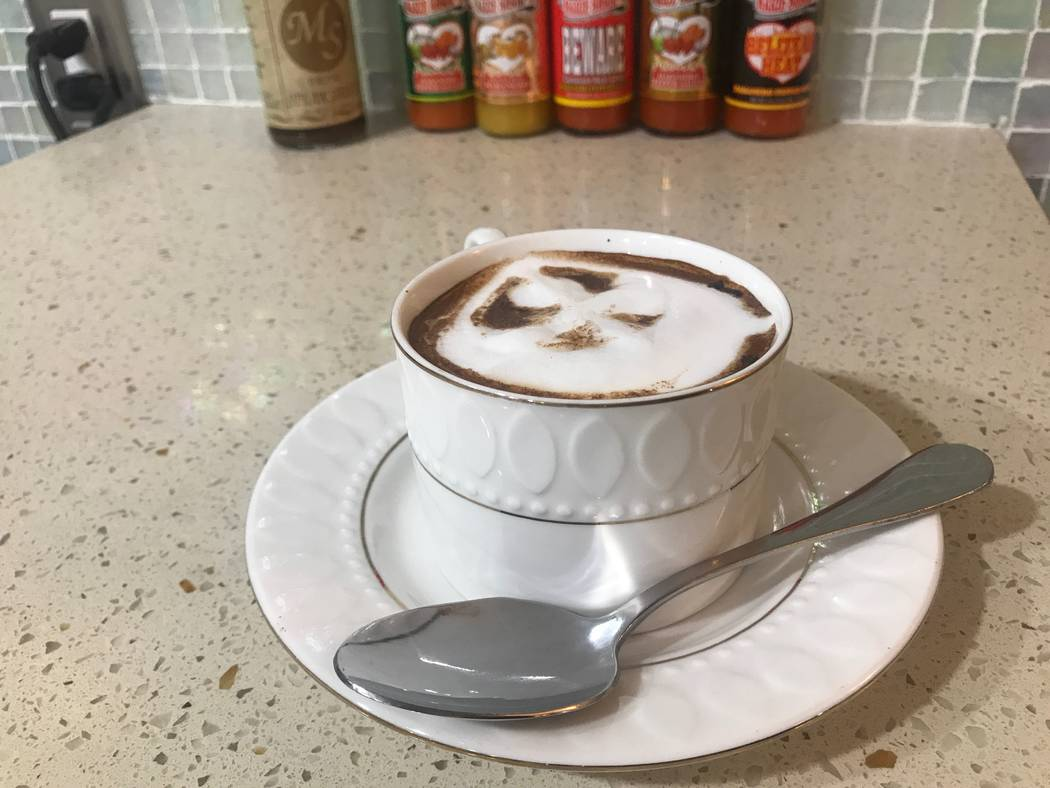 A Jamaican cappuccino is served on June 30 at the House of Manchester Caribbean Grill is located at 2256 Losee Road, Suite E. (Kailyn Brown/View) @KailynHype