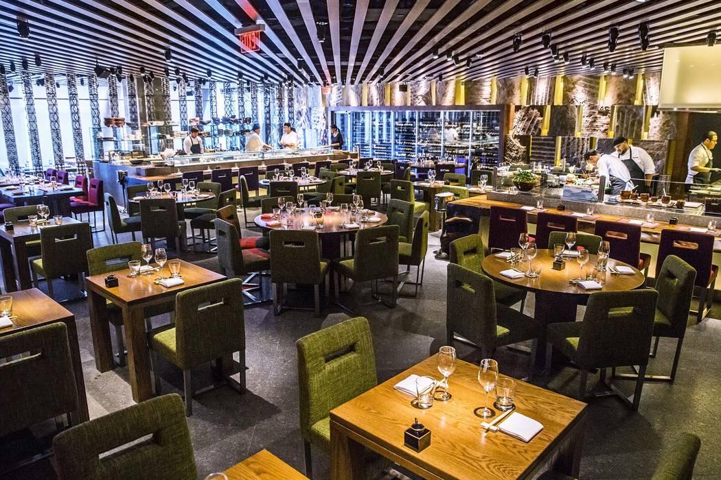 The Dining Room At Zuma Cosmopolitan Las Vegas Benjamin Hager