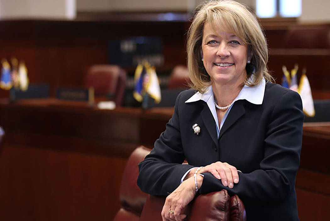 Secretary of State Barbara Cegavske has announced she will turn over public information to a presidential task force on election integrity. (Cathleen Allison/Special to Las Vegas Review-Journal)
