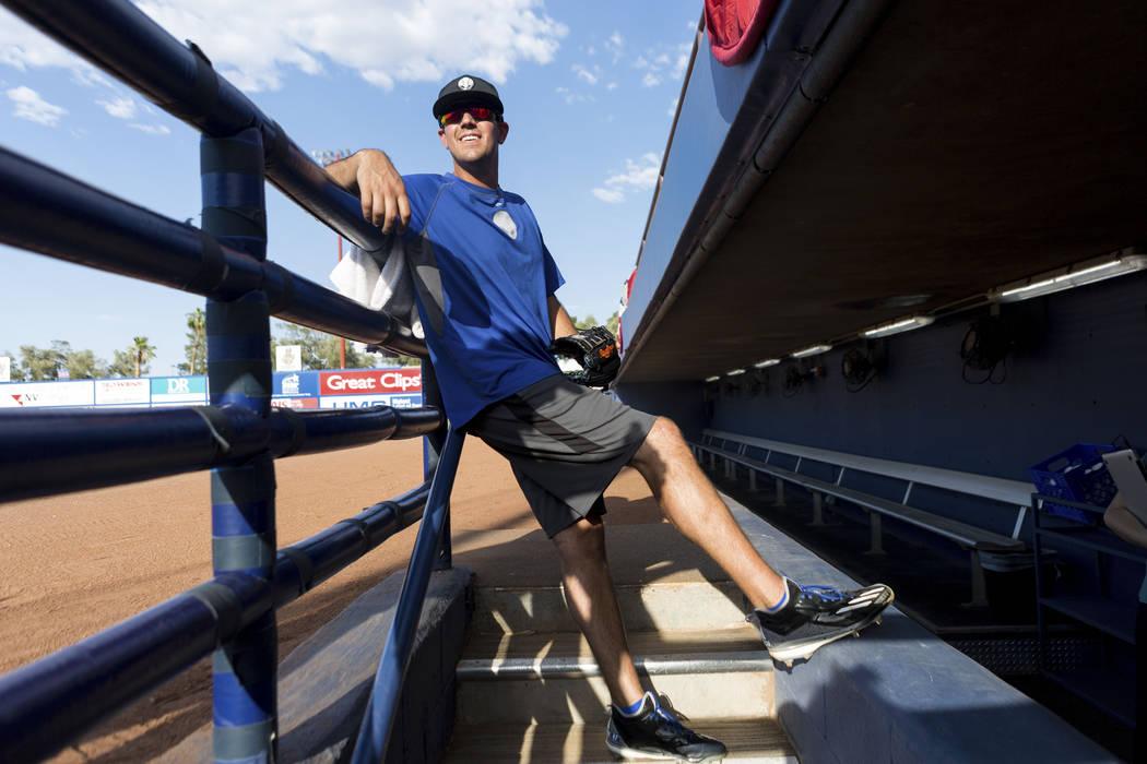 Beck Wheeler at Cashman Field in Las Vegas, Wednesday, July 5, 2017. Elizabeth Brumley Las Vegas Review-Journal