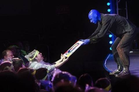 Alain Rochefort joined Blue Man Group in the fall of 2006. (Courtesy)