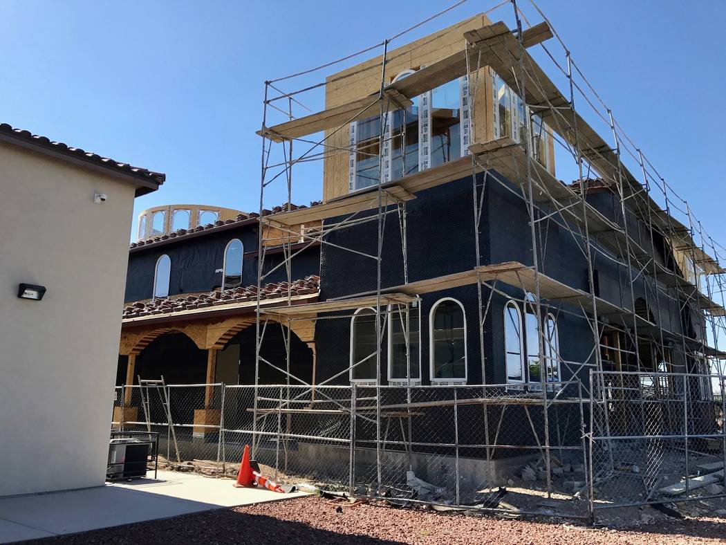 St. Michael's Antiochian Church, one of the many churches popping up in the Southwest, is expected to be complete in about three to four months. (Madelyn Reese/View) @MadelynGReese