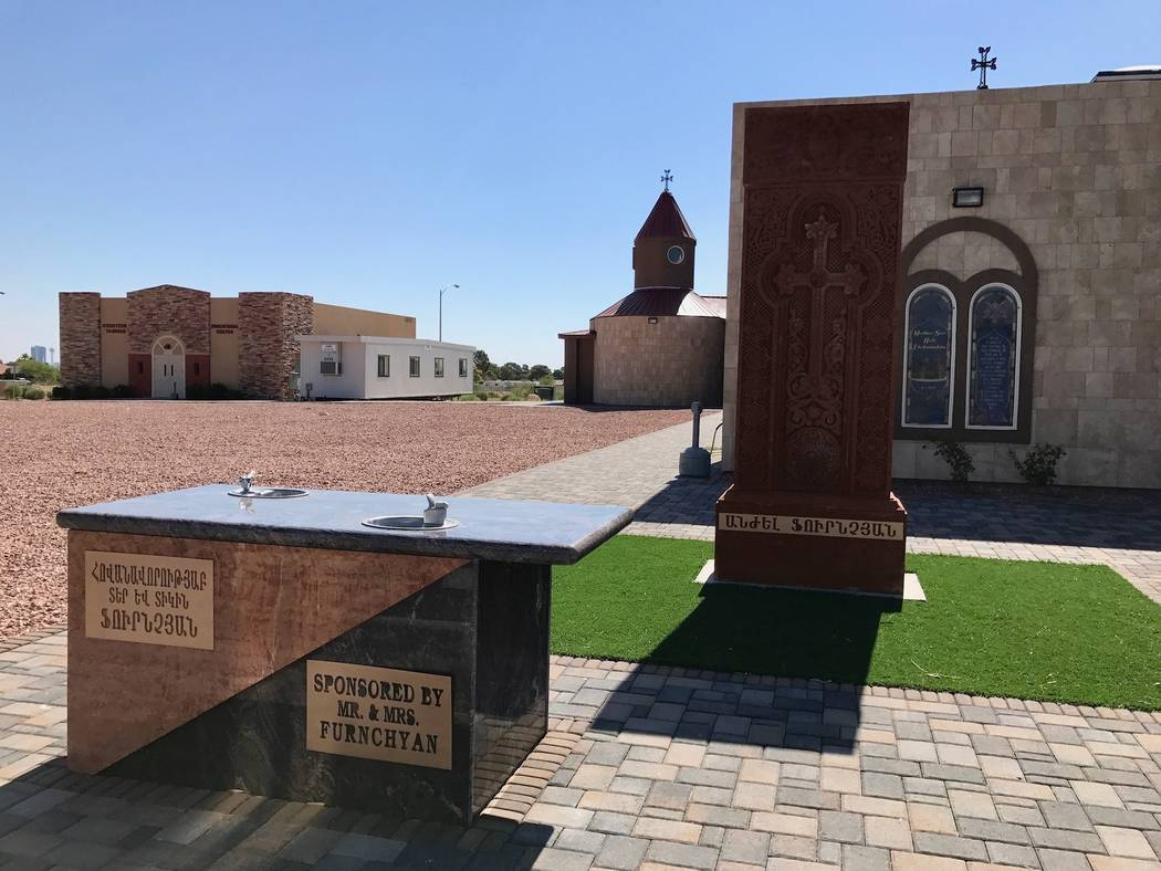 George Boghos of GB Construction has had made church construction his niche. One of his projects includes St. Sharbel Catholic Church, just a stone's throw away from St. Michael's Antiochian. (Mad ...
